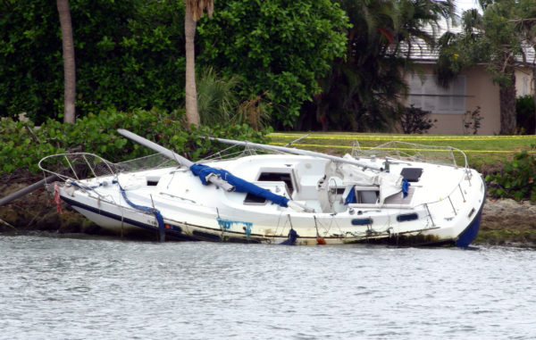 Marine Damage claim Miami