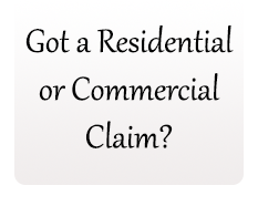 Residential or commercial claim adjuster